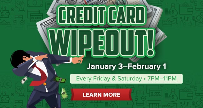 Credit Card Wipeout!